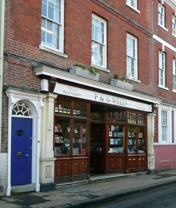 Old Images of Jane Austen's Bookshop: Winchester Bindery, Winchester Austenonly, Booksellers Winchester, Street Winchester, Winchester College, Bookshops Library
