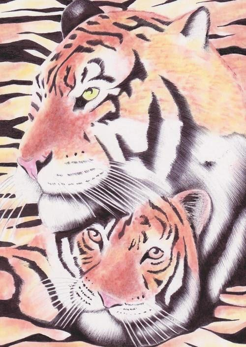 PATH Collection - Two Tigers by Savino Ramos