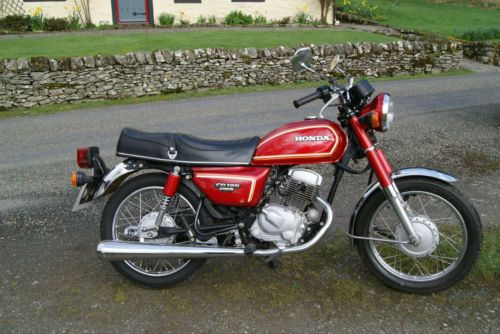 Honda Cd Cb 125 Benly Twin Very Good Condition Low Mileage