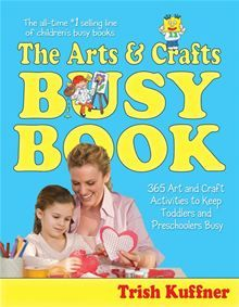 The Arts & Crafts Busy Book is packed with 365 fun arts and crafts activities for toddlers and preschoolers, including drawing, simple sewing, paper-mâché, and painting projects. This book also…  read more at Kobo.