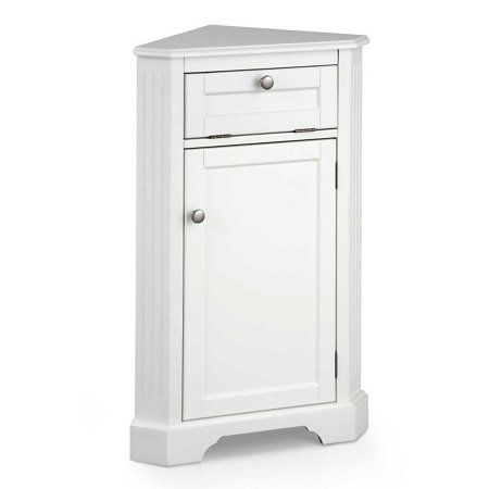 Bathroom Corner Storage Cabinet Water Closet Storage Idea Corner