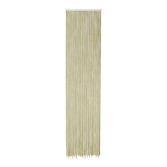 kettinggordijn 48 strengen, goud, 250 x 60 cm - achtergronden en ondergronden…