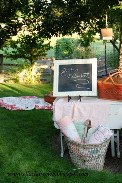 {Ella Claire}: ~ Shabby Chic Garden Party