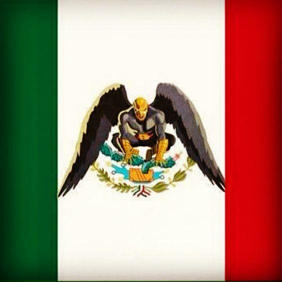 Nueva bandera mexicana.