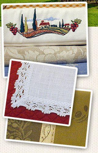 Le Telerie Toscane Florence Household Linen Bed Linen Table