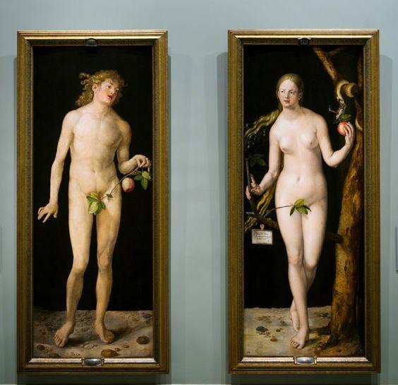 Alberto Durero (1471-1528) adamo ed Eva