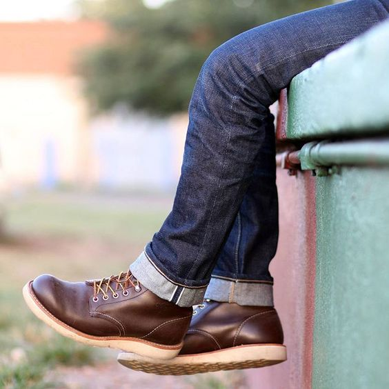 Selvedge1 — Boots and denim just go great together. Happy...