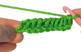 tunisian stitch crochet tutorial with left and right handed instructions.  Looks like it has been knitted