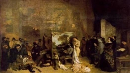 L'atelier - Gustave COURBET Présentation du tableau