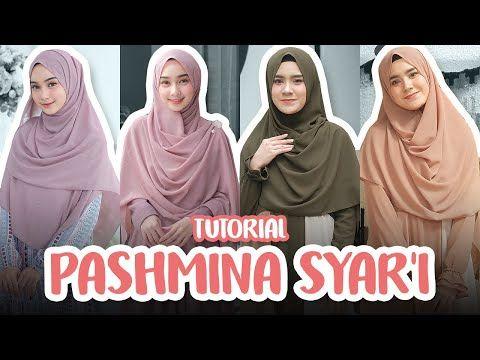 4 Tutorial Hijab Pashmina Syar I Menutup Dada Simpel Stylish Dan Cantik Youtube Pashmina Hijab Tutorial Hijab Tutorial Hijab