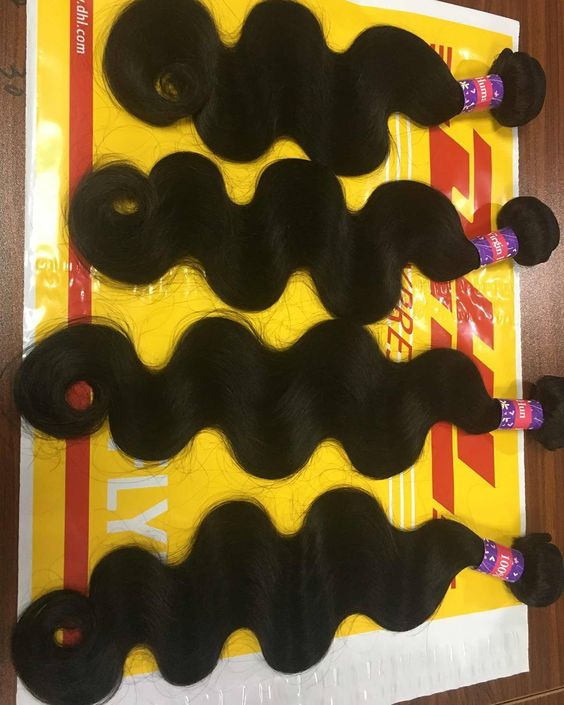 body wave18inch20inch22inch22inch WhatsApp:86180 5350 3095 Large stock for 100% virgin unprocessed human hair tangle &shed free. Best quality with reasonable price. Offer best service before and after sales.various styles8-30inch 7a8a in large stock ! Shipment: USA 2-3 days 3 days to Europe 3-5 days to Africaby DHLTNTFEDEX Payment: paypalwestern unionmoney gram Emai:slovehair@gmail.com Skype:slovehair #slovehair #virginhair #hair #humanhair #hairweft #wavy #bodywave #loosewave #deepwave…