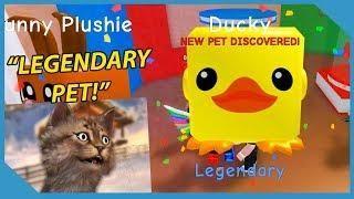 I Got A Legendary Ducky Pet In Roblox Bubble Gum Simulator Ducky