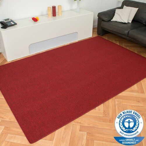 Canada Rug In Light Red 17 Stories Rug Size Rectangular 100 X 150cm In 2020 Grey White Rug Rugs Red Shag Rug