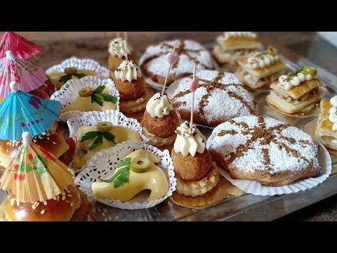 ثاني فيديو روتين طلبية مملحات تشكيلة من خمس موديلات و حشوات رائعة بأفكار مبتكرة وجديدة Youtube Food Desserts
