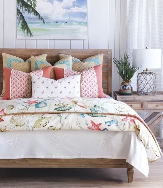 Coastal Luxury Bedding Bedroom Ideas From Eastern Accents