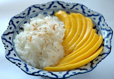 Bonbini!: Thai sticky rice mango...
