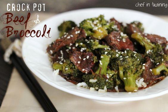 Crock Pot Beef & Broccoli!...