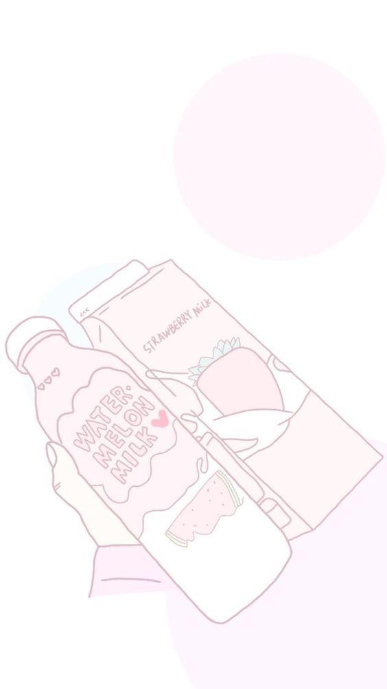 Pastel Artsy Artsandcrafts Crafts Milk Artwork Mangaart Lovely Illustration Kawaii Cute Cute Pastel Wallpaper Cute Anime Wallpaper Kawaii Wallpaper