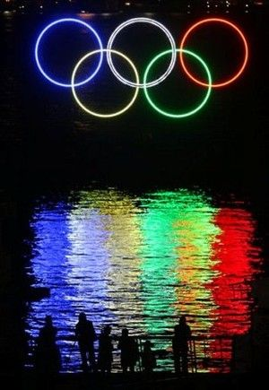 #LED #Olympics A Throwback Thursday pic to the 2012 Olympics! Great use of LED's! http://studyusa.com/