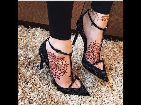 تألقي في كل مناسبة بأجمل نقش حناء صور نقش حناء جديدة Henna Designs Feet Foot Henna Henna Tattoo Designs