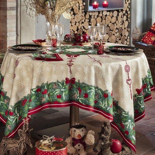 Jour De Fete Tablecloth Christmas Table Cloth Table Cloth