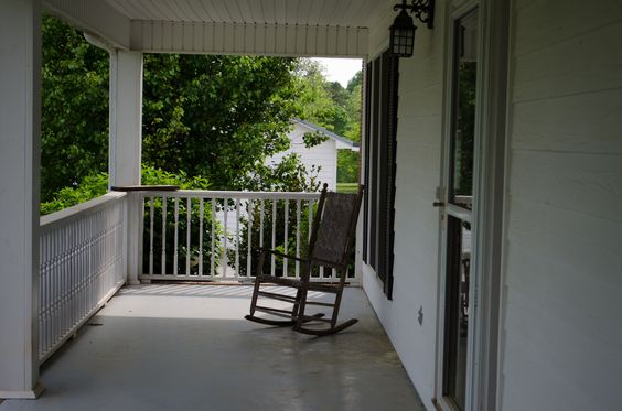 My new front porch