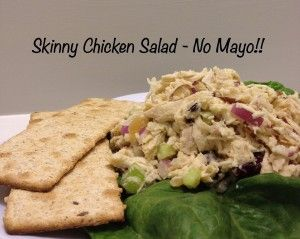 Skinny Chicken Salad - This is amazing!! You wouldn't even believe there is NO MAYO!! I make it all the time and everyone always asks for the recipe - delicious and completely guilt free!!!