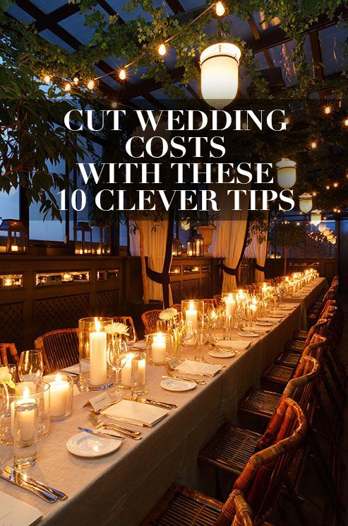 String Lights And Candles Are Great Options For Illuminating Your Wedding Reception On A Budget Click To View How Cut Costs With These