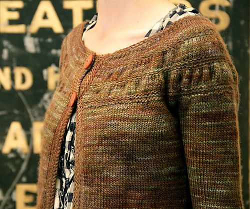 Ravelry: tea leaves cardigan pattern by Melissa LaBarre