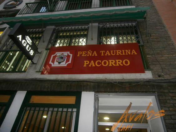 PEÑA TAURINA PACORRO: FOTOS DE ACTOS Y TERTULIAS TAURINAS DE LA PEÑA