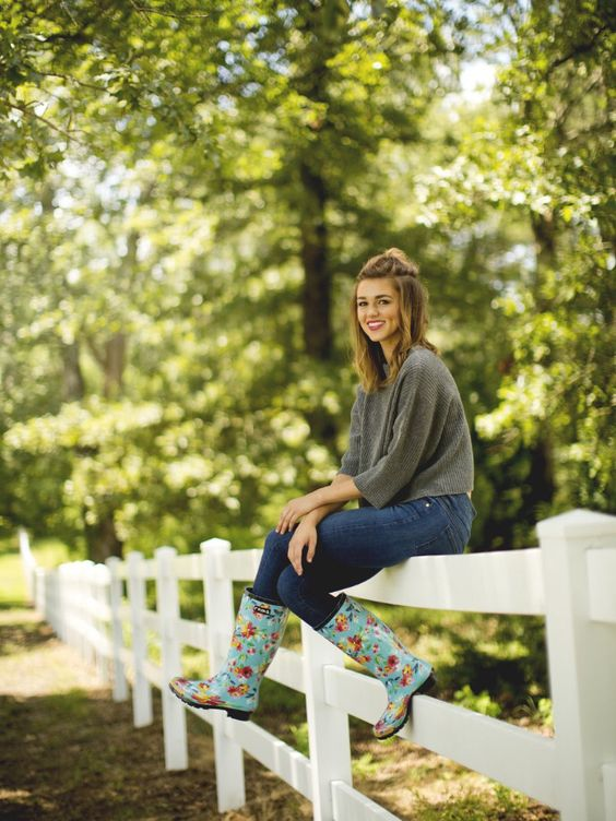 I'm so obsessed with rain boots, I'm definitely going to have to add a pair of these to my collection. Love the meaning behind them as well.