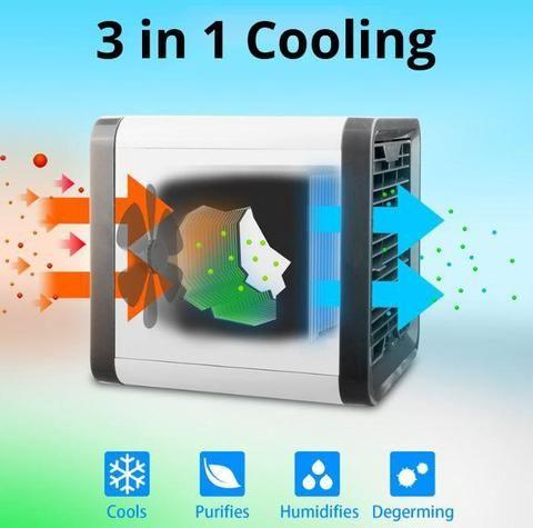 Mini Air Conditioner Portable Evaporative Air Cooler Usb Fan Easychill Bestsellrz Portable Air Conditioner Evaporative Air Conditioner Solar Power Diy