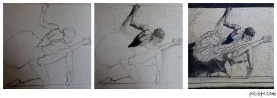 Ballerina Sketch