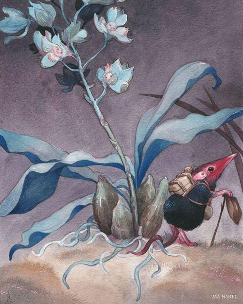Hortari A4 Fine Art Print Marvollo Caravelli