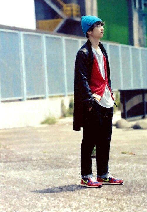 私服の染谷将太