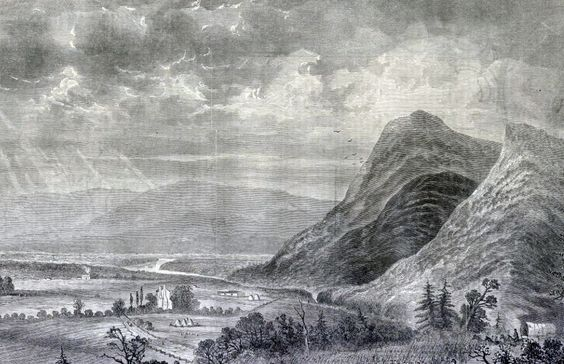 Shenandoah Valley engraving.