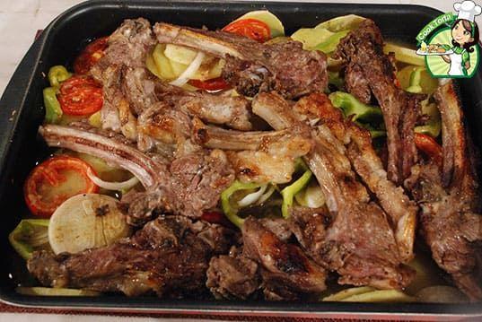 طريقة عمل الريش الضاني بالبطاطس Food Meat Beef
