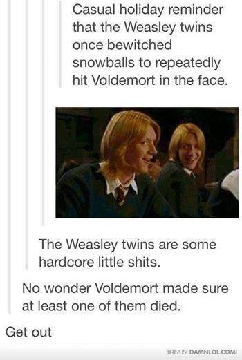 weasley twins meet the prewett