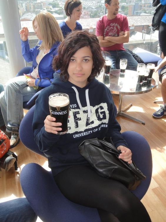 EFZG hoodie u Guinness Museum Ireland