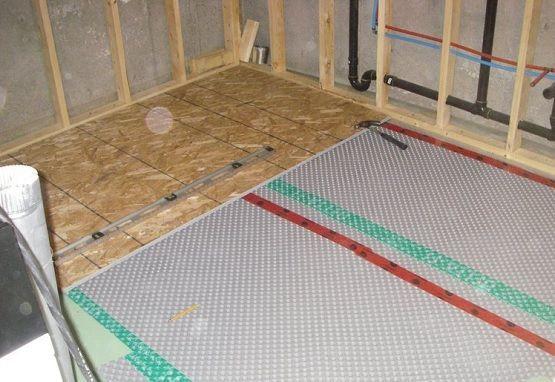 Insulate Basement Floors