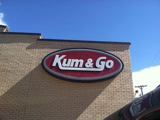 Gas station in Colorado