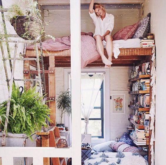 Loft bed: