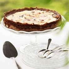 Cheesecake mud cake