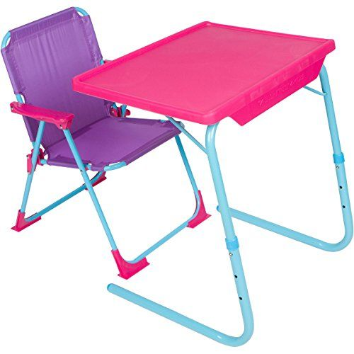 Table Mate 4 Kids Folding Desk And Chair Set For Eating Art Activities For Toddlers And Childre In 2020 Desk And Chair Set Table And Chair Sets Kids Table And Chairs