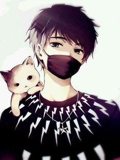 Awesome Mask Handsome Anime Boy Wallpaper 2020 Anime Sanati Cizim Egitimleri Anime Kizlari