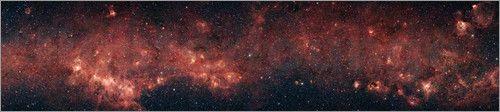 Milchstraßen Galaxie Bilder: Poster bei Posterlounge.de