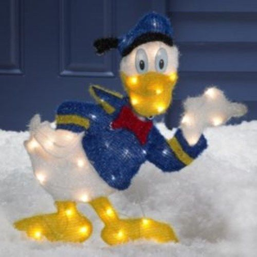 Outdoor Decorations, Donald Duck And Donald O'connor On