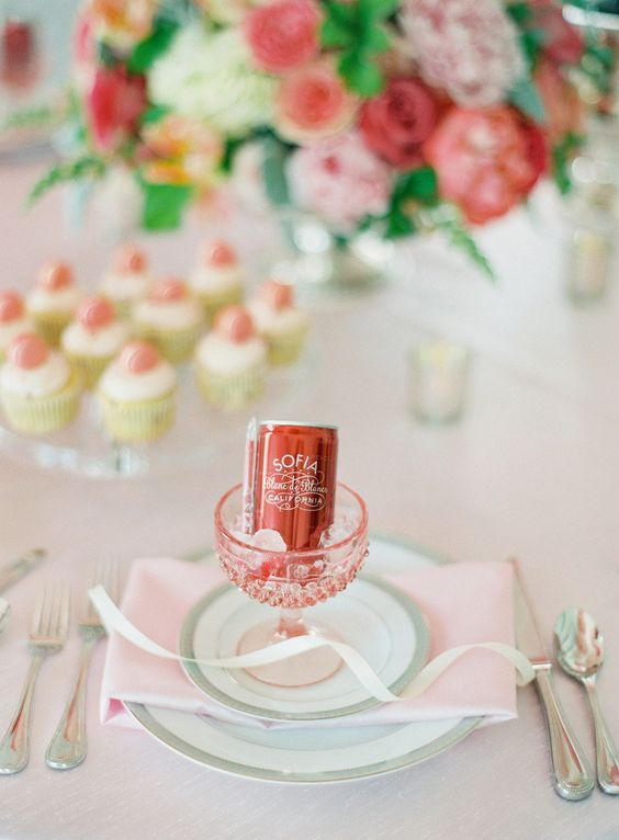 Pink bubbles - French Wedding Ideas
