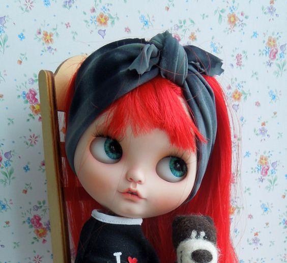 OOAK Custom Blythe Doll PIPA by nhola on Etsy