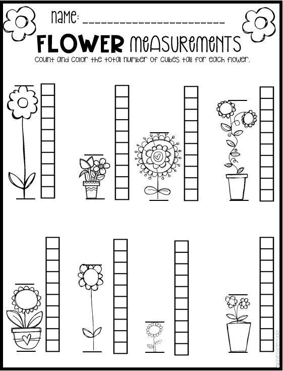 Spring Math And Literacy Worksheets For Preschool Is A No Prep Packet Packed Full Of Worksheets And Prin Spring Math Worksheets Spring Math Literacy Worksheets